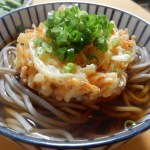 [レシピ]タケノコと人参のかき揚げそばの作り方