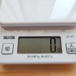 薄型コンパクトで追加計量も簡単♪タニタのデジタルクッキングスケールKD-187のご紹介!