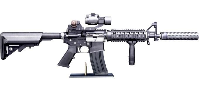 主人公クリス・カイルの銃「Mk18 mod.0」