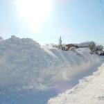 記録的な大雪で雪に埋もれてしまった街の景色【2018年2月大雪の記録】