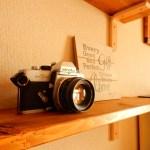 【おしゃれなインテリア小物】レトロなクラシックカメラを部屋に飾るとすごくかっこいい!