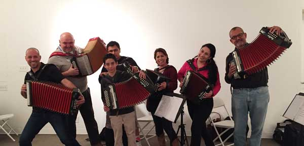 Button Accordion Class Los Angeles