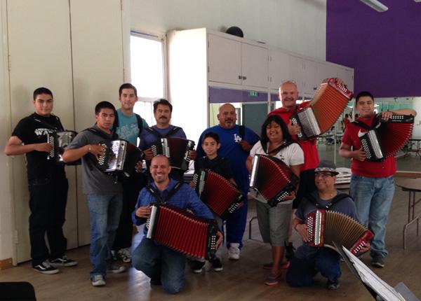 2014 Spring Accordion class participants