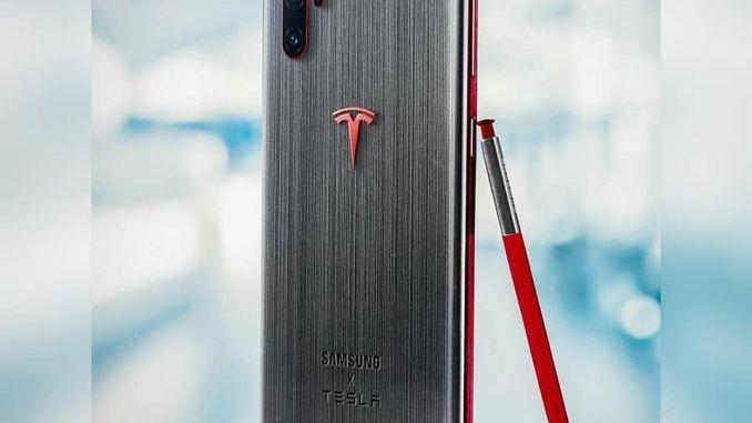 Galaxy Note 10 Tesla Edition 1