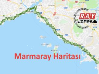 Marmaray térképe