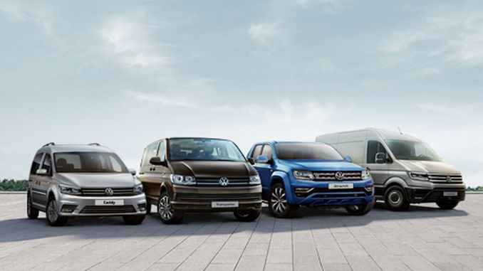 Zero interest opportunity in Volkswagen Commercial Vehicle models