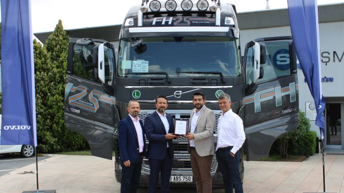25 year special concept volvo fh16 found its owner