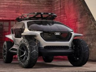 audinin drone concept electric terrain car appeared in frankfurt
