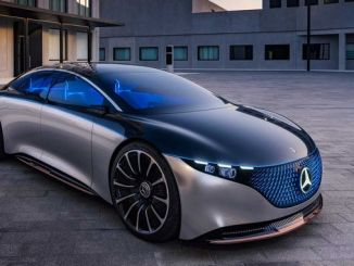 electric concept mercedes benz vision eqs