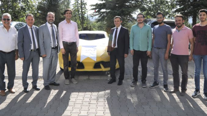 erude students developed unmanned electric cars