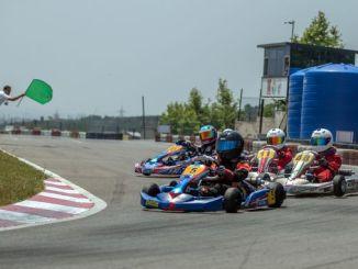 5 karting with salt