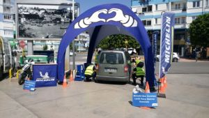 Michelin 'Right Air Pressure' events started