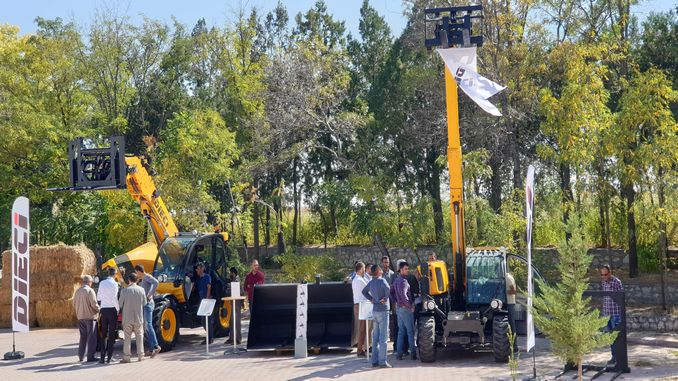 dieci telescopic handlers receive full marks at customer event in the area