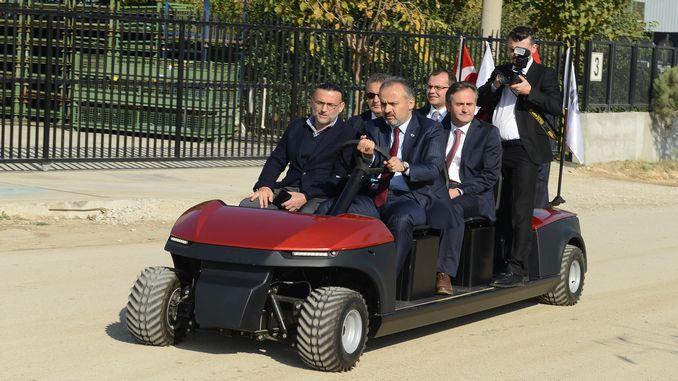 President Aktaştan Visit to TRAGGER's Production Center