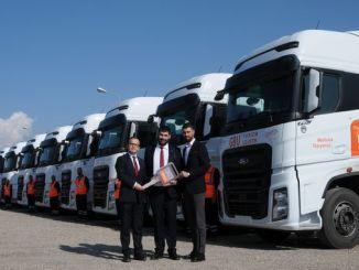 gbu lojistik filosuna ford trucks f max kamyon katti