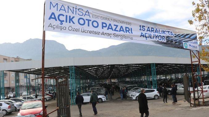 manisa old garage open auto market