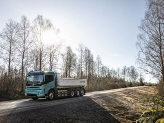 volvo trucks showcased their electric trucks
