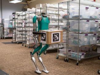 Първият робот за доставка, който се движи като човек, е готов за работа за Digit Ford