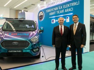 turkiyede produced first hybrid commercial vehicle road tactics