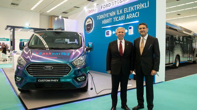 turkiyede uretilen ilk hibrit ticari arac yola cikiyor