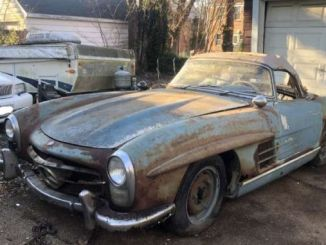Rare Cars Out of the Junkyard Sold at a Record Price