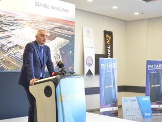 Istanbul airport smart taxi application started