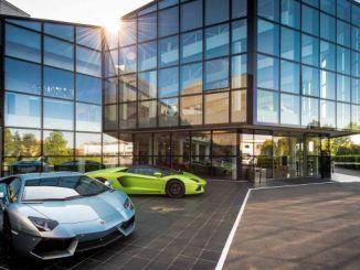 Lamborghini tehas on suletud