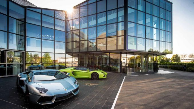 Lamborghini Factory Closed