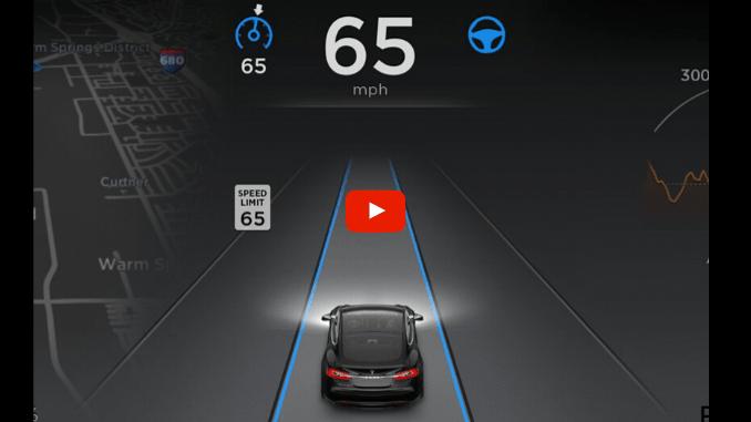 How the Tesla Autopilot System Works