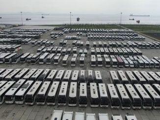 ehirler Arası Otobüsler Seyahat Kısıtlaması Nedeniyle Boş Kaldı