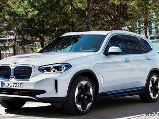 Elektrické BMW IX3