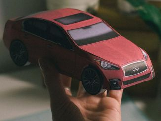 Carigami Instead of Origami from Infiniti