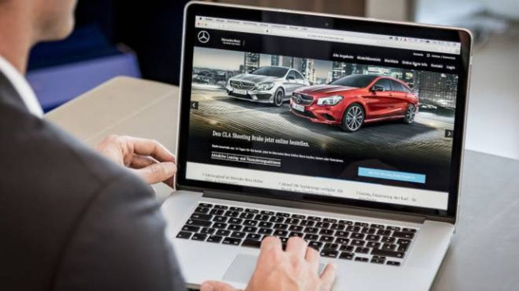 Mercedes Online Sales Platform