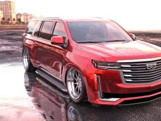 Cadillac Escalade muudetud