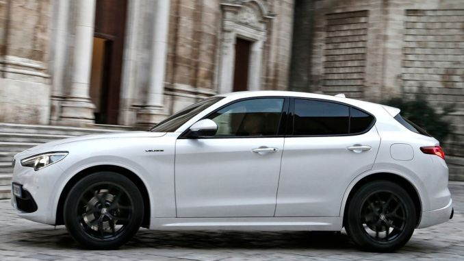 New Alfa Romeo Stelvio White