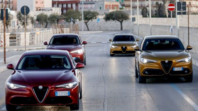 New Alfa Romeo Stelvio all colors