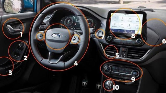Ford Announces Tips For Disinfecting Cars