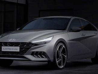 Hyundai shared the drawings of the new elantra n line