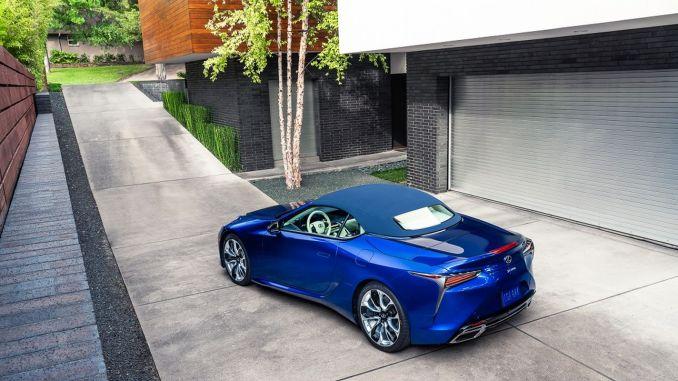 Lexus LC Convertible Regatta