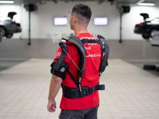 Audi's Robotic Suit Tested at Skelex Oto Maslak