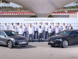 Müncheni Bayern kasutab elektrilist Audi