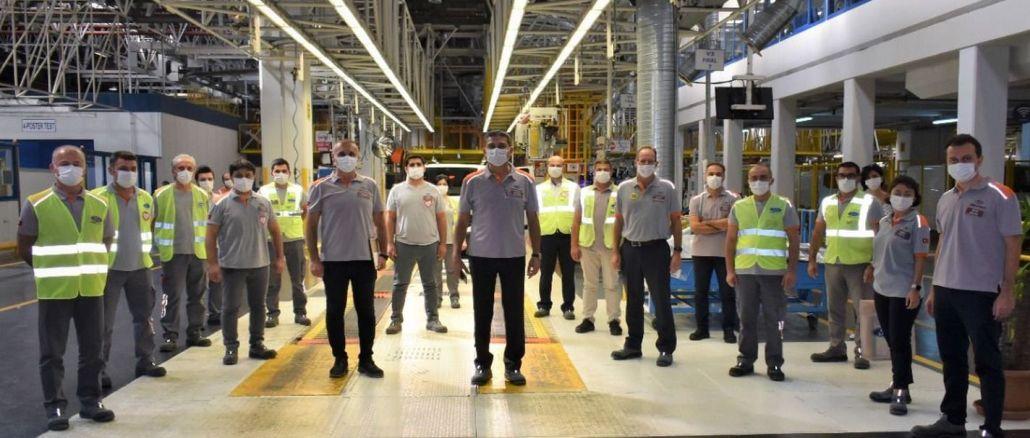 İş Sağlığı ve Güvenliğinde Ford Otosan'a 9 Ödül Birden
