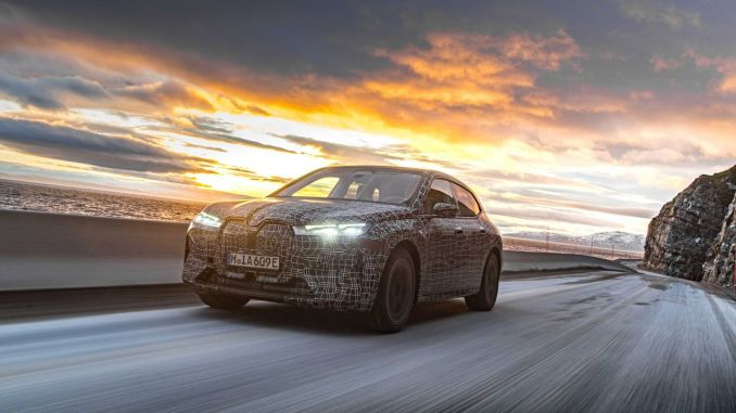 bmw ix tested in the harshest winter conditions