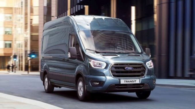 Ford will attract attention with the new transit limited and frigo van