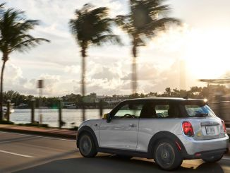 mini electric electirik named the most environmentally friendly city car of the year in america