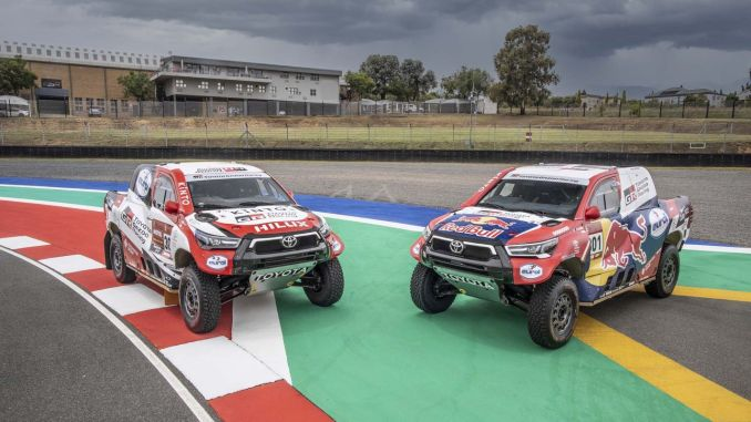 toyota gazoo racing will take its place with new hilux in dakar rally