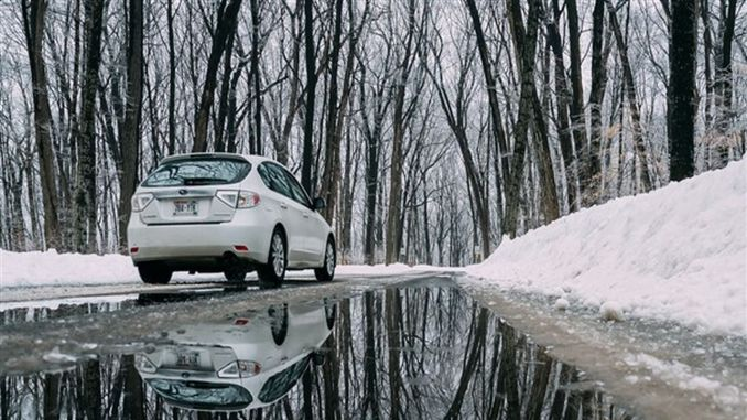What should lpg vehicle owners pay attention to in winter conditions?