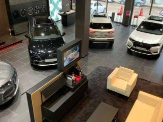 Prantsuse luksusautode kaubamärk pani DSi müügisalongi Izmiriansi teenistusse