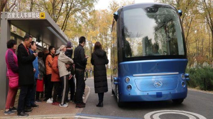džini esimene juhita kommertsbuss hakkab sõitjaid vedama
