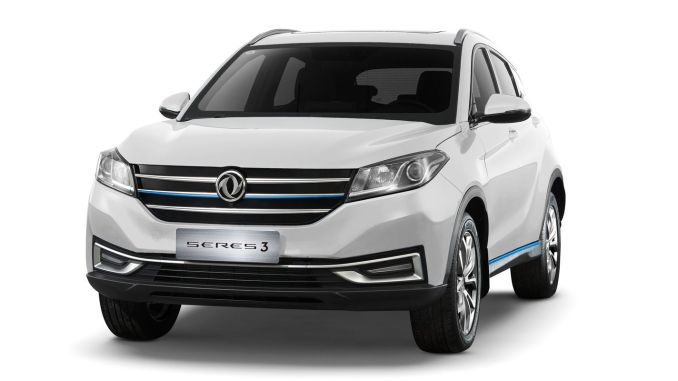 dfsk electric suv model seres